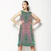 Tropical Print Foulard (Dress)