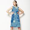 Indigo Stamp (Dress)