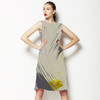 Abstract Grey (Dress)