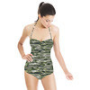 Texture03 Oliv (Swimsuit)