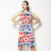 Abstract Floral-1 (Dress)