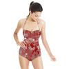 Flamingo Print (Swimsuit)