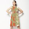 Stripes With Flowers (Dress)