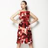 542 Floral Check Print (Dress)