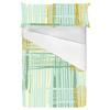 Overlapping Textured Stripe Brushstrokes. (Bed)