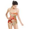 541 Big Pink Iris Floral Print (Swimsuit)