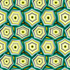 Geometric Trendy Hexagon (Original)