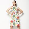 Nostalgic Retro Floral Garden (Dress)