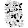 Black & White Flower Meadow (Original)