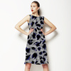 Leopard Abstract in Grey (Dress)