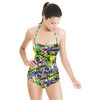 Floating Squares (Swimsuit)