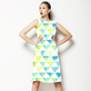 Watercolor Triangles (Dress)