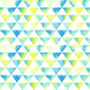 Watercolor Triangles (Original)