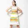 Pastel Oilpaint-Watercolor Kaleidoscope (Dress)