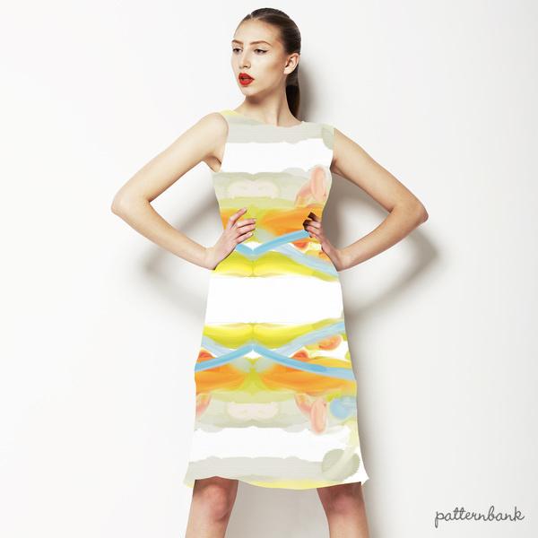 Pastel Oilpaint-Watercolor Kaleidoscope