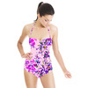 Painterly Texture Floral (Swimsuit)