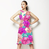 Acid Watercolour Florals (Dress)