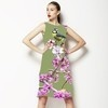 Digital Blossom Bird Print (Dress)
