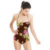 Yellow Rose Vintage Floral (Swimsuit)