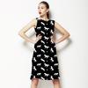 Fun Black and White Horses and Stars (Dress)
