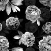 Monochrome Floral (Original)