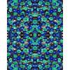 Blue Watercolour Floral (Original)