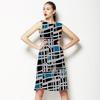 Painted Geometric (Dress)