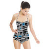 Painted Geometric (Swimsuit)