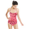 Pink Speckled Texture (Swimsuit)