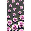 Pink Roses on Grey Background (Original)