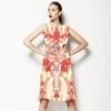 Ikat Flower Print (Dress)