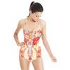 Ikat Flower Print (Swimsuit)
