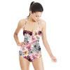Pretty Dahlia Print (Swimsuit)