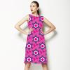 Pink & Purple Flowers (Dress)
