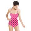 Pink Spot Mix (Swimsuit)
