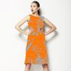 Orange Texture (Dress)