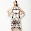 Hand Drawn Ethnic Design (Dress)