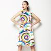 Contemporary Broken Circles (Dress)