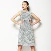 Fine Lines_ Grey (Dress)