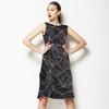 Fine Lines_ Black (Dress)