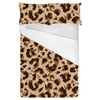 Neutral Leopard Repeat Pattern (Bed)