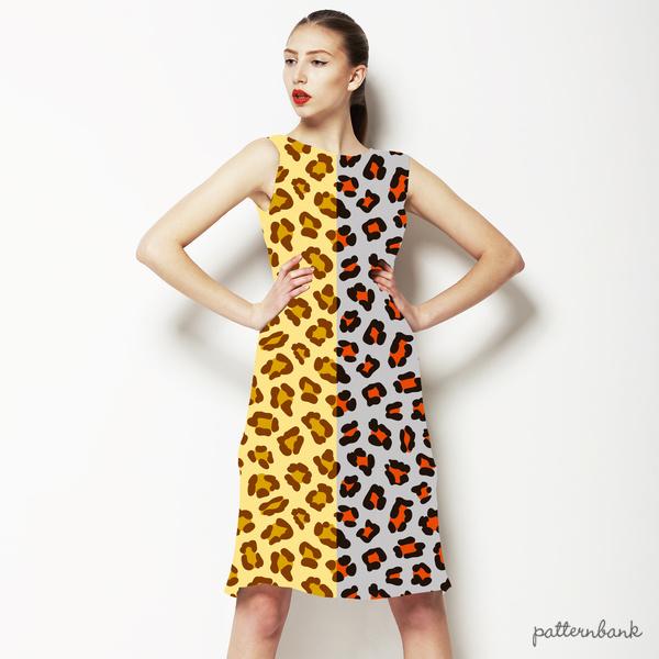 2 Cute Leopard Repeat Patterns