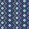 Indigo Diamond Chevron (Original)