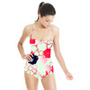 Cherry Blossom Pink Navy (Swimsuit)