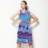 Pink Blue Recursive Turing Pattern (Dress)