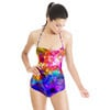 Vibrant Abstract Floral (Swimsuit)