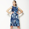 Ethnic Blue (Dress)