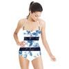 Stripes Flowers (Swimsuit)