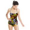 Electric Yellow Bloom (Swimsuit)