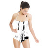 Black White Tropicana (Swimsuit)